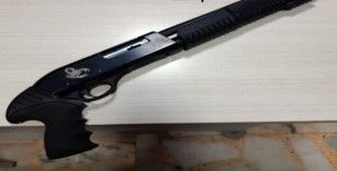 Pompalı tüfekle rastgele havaya ateş eden şahıs gözaltına alındı