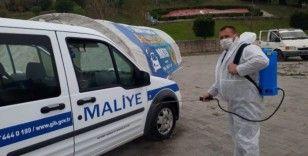 Antalya'da 'Araç dezenfekte noktası'
