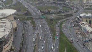 İstanbul'da trafiğin en yoğun olduğu cuma güne yollar boş kaldı