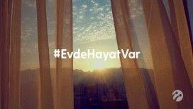 Sanatçılardan #EvdeHayatVar çağrısına destek