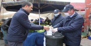 Başakşehir'de pazar yerlerine korona virüs düzenlemesi
