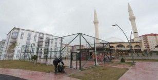 Mahallelerdeki spor sahaları kullanıma kapatıldı