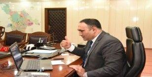 Belediye Başkanı, basın toplantısını 'Videokonferans' yöntemiyle yaptı