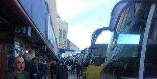 Şehirler arası otobüs seyahatleri durduruldu, Harem otogarından son otobüsler kalktı