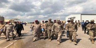 Kerkük'te ABD askerleri K1 üssünden çekildi