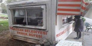 Kozan'da kamu mallarına verilen zarar verildi