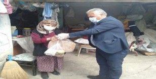 Isparta'da 'Evde Kal'an 65 yaş üstünde 56 bin vatandaşa hizmet veriliyor