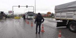 Siirt'te yolcu otobüsleri denetlendi