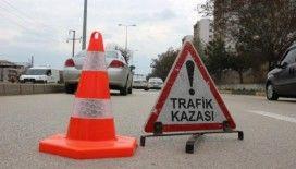 Kırıkkale'de trafik kazası : 1 yaralı