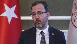 Bakan Kasapoğlu: 'Liglerin başlama zamanı Bilim Kurulu ve Sağlık Bakanlığı'nın görüşleri ile ortaya çıkacak'