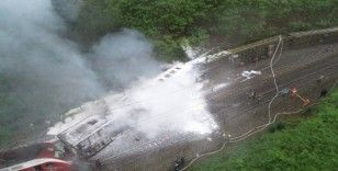 Çin'de yolcu treni raydan çıktı: 20 yaralı