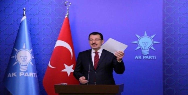 Ali İhsan Yavuz, sosyal medya hesabı üzerinden duyurdu