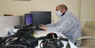 Malatya Büyükşehir Belediyesinden basına koruyucu malzemeler