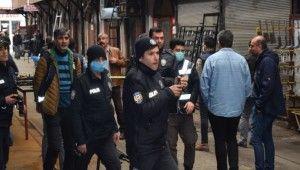 Malatya'da esnaflar arasında silahlı kavga