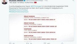 """Samsun'dan """"Biz Bize Yeteriz Türkiyem""""e destek"""