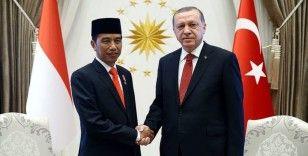 Cumhurbaşkanı Erdoğan ile Endonezya Cumhurbaşkanı Widodo telefonda görüştü