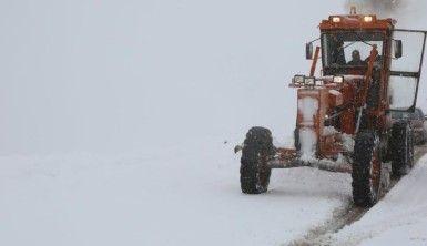 Tunceli'de kar yağışı etkili oldu, 32 köy yolu kapandı