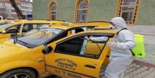 Pazaryeri'nden dezenfekte çalışmaları devam ediyor
