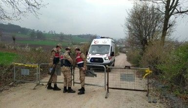 Samsun'da bir kırsal mahalle karantinaya alındı
