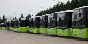 Kocaeli'de yolcu sağlığı için halk otobüsü sayısı artırıldı