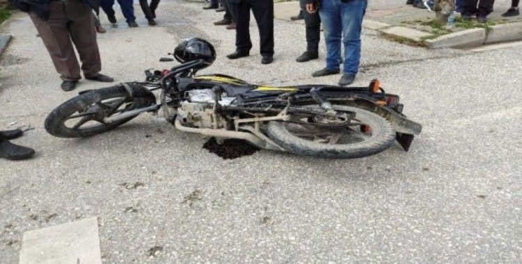 Samandağ'da trafik kazası: 1 yaralı