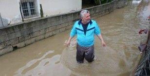 Kozan'da evler sular altında kaldı