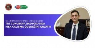 GSO Başkanı Ünverdi'den kısa çalışma ödeneği değerlendirmesi