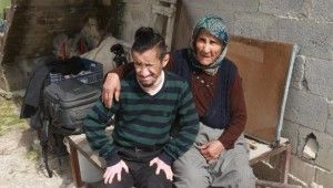 Mut'ta engelli genç darp edildi