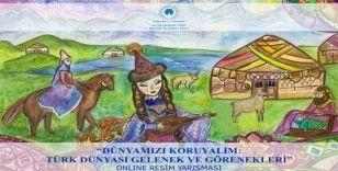 Uluslararası Türk Kültür ve Mirası Vakfı'ndan resim yarışması