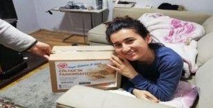 Körfez'de çölyak hastalarına destek