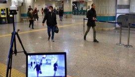 İBB istasyonlara termal kamera yerleştirdi, ateşi yüksek çıkanlar araçlara alınmıyor