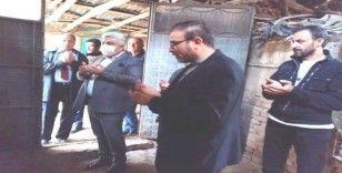 Hisarcık'ta Korona virüsün defi için 9 kurban kesildi