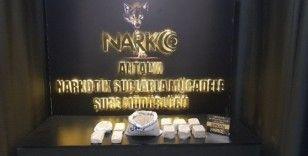 Antalya'da 10 kilo 420 gram uyuşturucu ele geçirildi