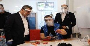 Vali Kaymak: 'İlimizde yoğun bir şekilde maske üretilmesi lazım'