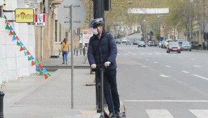 Azerbaycan'da koronavirüs nedeniyle sokaklar boşaldı
