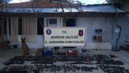 Burdur'da silah kaçakçılığı operasyonu