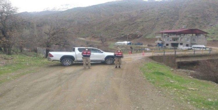 Siirt'te 2 köy ve 3 mezra korona virüs nedeniyle karantinaya alındı
