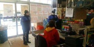 İstanbul'da esnaf ve vatandaşlara 'korona virüs' uyarısı