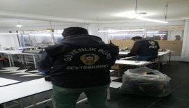 Zeytinburnu'nda kaçak maske operasyonu: 4 atölye mühürlendi