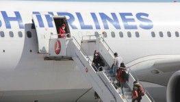 Onlar için özel izinle uçak kaldırıldı