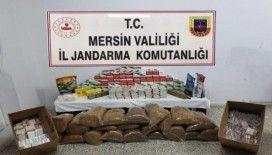 Jandarma 66 kilogram kaçak tütün ele geçirdi