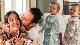 Pelin Akil ile Anıl Altan'ın ikizleri 1 yaşına girdi