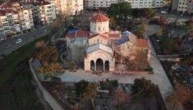 Trabzon Valiliği'nden 'Trabzon Ayasofya'nın bahçesi betonlaştı' haberlerine açıklama geldi