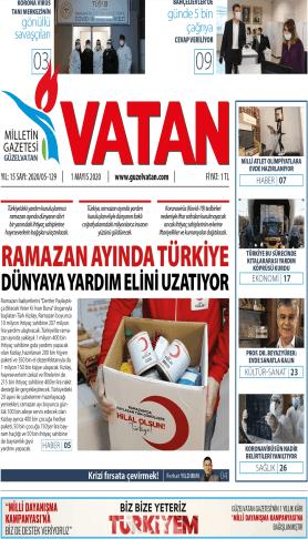 Güzel Vatan Gazetesi Sayı:128