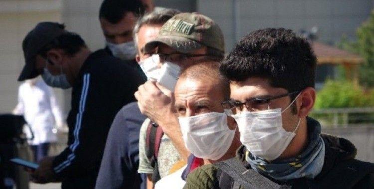 Kayseri'de karantina süresi tamamlanan 242 kişi memleketlerine gönderildi