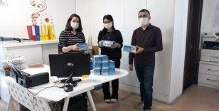 Salihli OSB'ye 19 bin maske