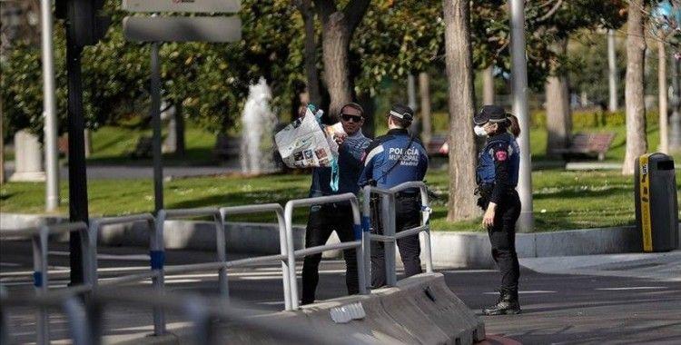 Madrid'de Kovid-19 önlemlerine uymayanlara ceza yağdı
