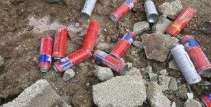 Siirt'te yola tuzaklanmış el yapımı patlayıcı bulundu
