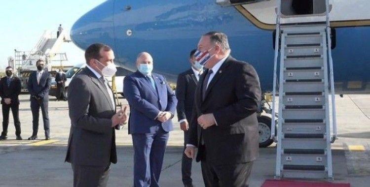 ABD Dışişleri Bakanı Pompeo İsrail'e geldi