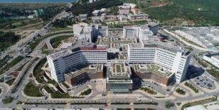 Adana Şehir Hastanesi'nden salgınla mücadeleye büyük katkı